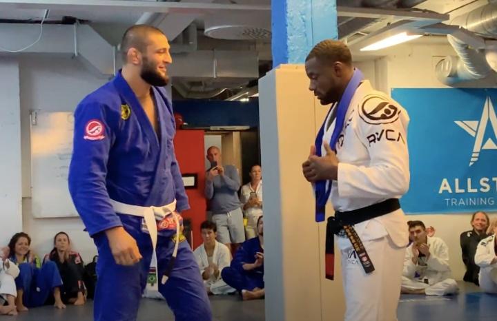 UFC Breakout Star Khamzat Chimaev Surprise Promotion To BJJ blue belt: 'I'm Very Nervous'