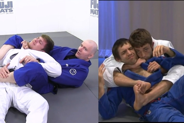 Bow & Arrow Choke -Comparing John Danaher & Ryan Hall's Approach