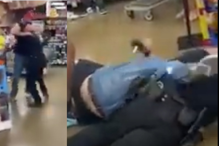 Police Officer Lands Big Takedown On Resisting Suspect But Fails Miserably To Hold Him Down
