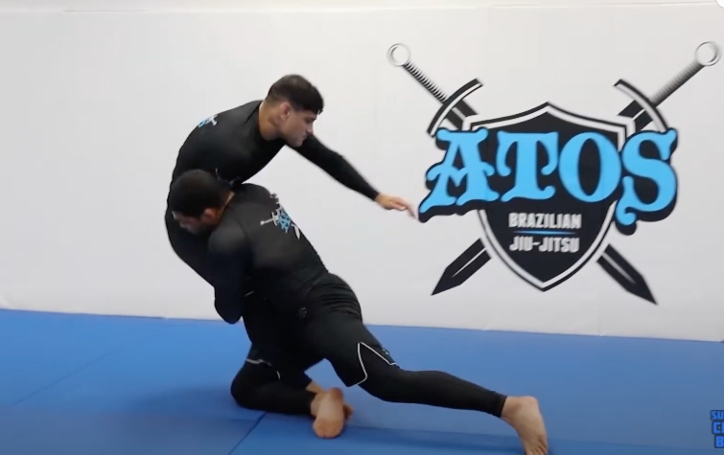 Easy Takedown: Arm Drag Inside Trip by Andre Galvao