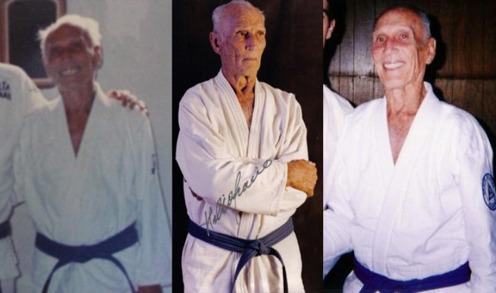 Why Did Grandmaster Helio Gracie Wear a Blue Belt?