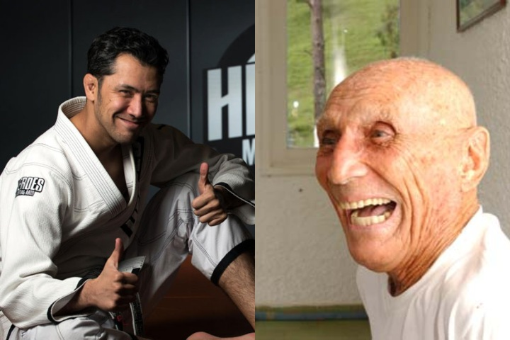 Old School American Black Belt Shares a Hilarious Story Of When He Met Helio Gracie