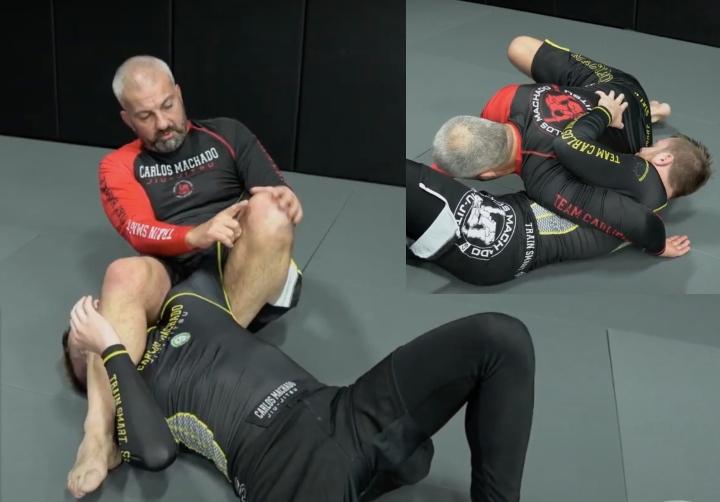Setting Up The Invisible Armbar With Carlos Machado
