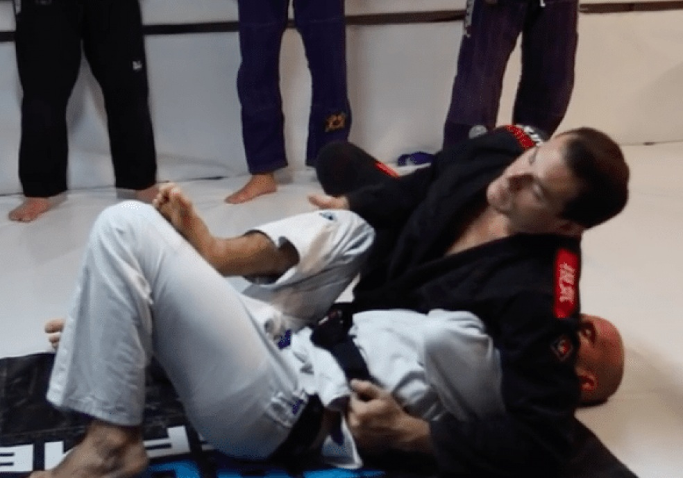 Roger Gracie's Side Control System: Baiting the Mount To Set Up The Kimura