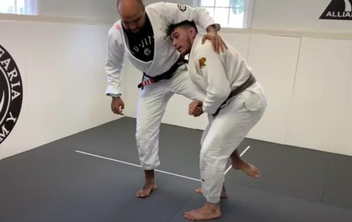 Two Effective Single Leg Takedowns by Giancarlo Bodoni & Bernardo Faria