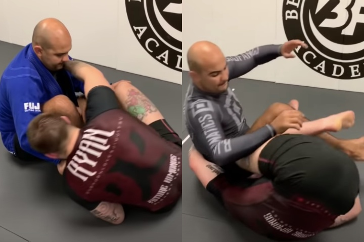 The Difference Between The BJJ Berimbolo With Gi And No Gi by Gordon Ryan