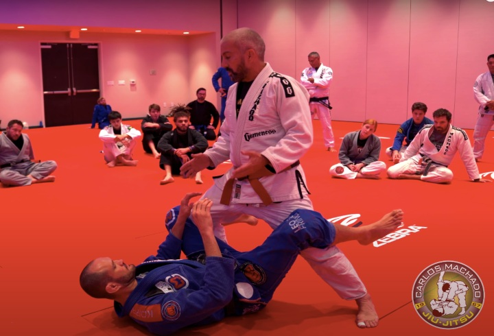 "Finding The ""Sweet Spot"" When Passing The Guard with Carlos Machado"