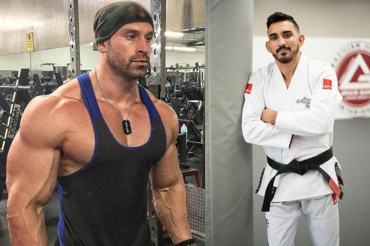 Video: Bodybuilder & YouTuber Bradley Martyn Tries To Grapple 170lbs BJJ world Champ Edwin Najmi