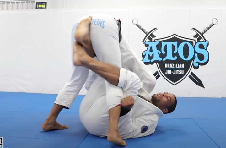 The Chair Guard Sweep Is Your New Favorite Setup From Guard Pull