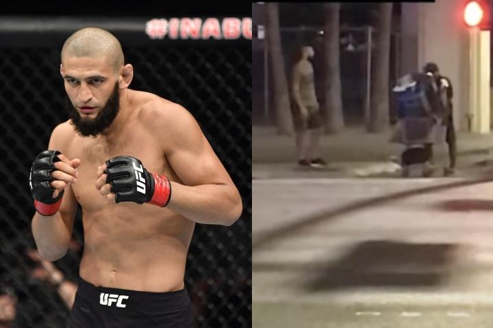 UFC Breakout Star Khamzat Chimaev Brings Homeless Man to McDonald's