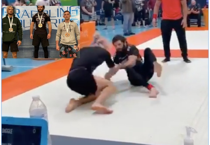 Sean O'Malley Competed in BJJ Tournament & Reached the Final