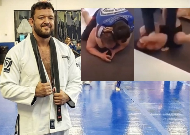 Tom DeBlass Reacts to Video of BJJ instructor's Beatdown of Big Muscle Guy who Challenged Him