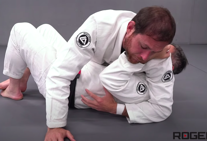 Roger Gracie Catches Everyone with this Straight Armlock from Side Control
