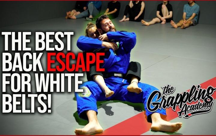 The Best Back Escape For BJJ White Belts