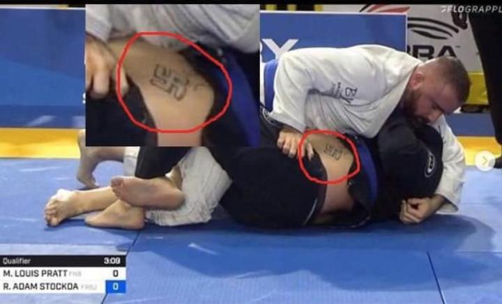 Internet Blasts BJJ Competitor for Swastika Tattoo; Instructor Responds