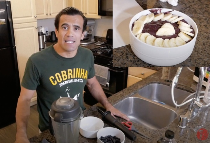 Cobrinha Shares his Favorite Acai Bowl Recipe