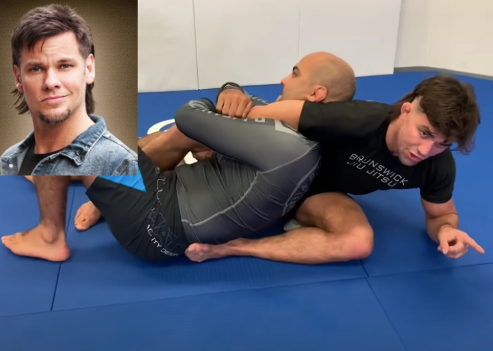 Theo Von (Garry Tonon) Has a Wicked Transition from Back To Guillotine