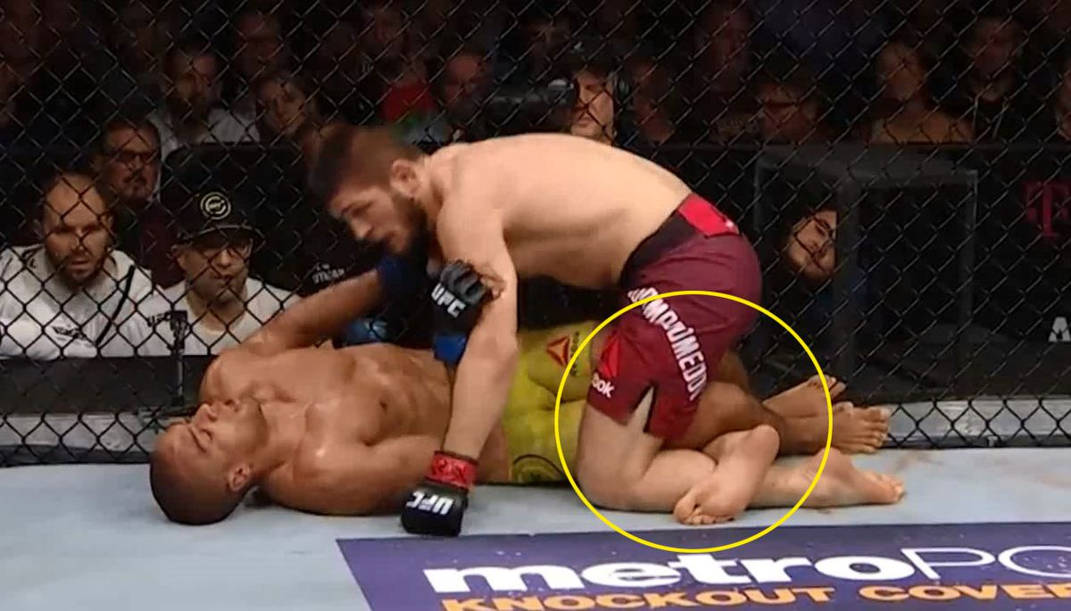 How To Counter Khabib's Leg Weave Pass & Control