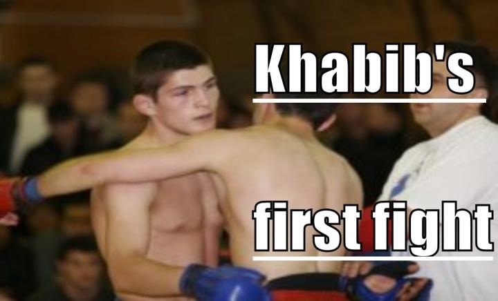 Khabib Nurmagomedov's  First MMA Fight (2008)