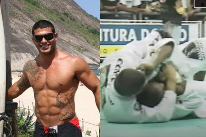 NEVER BEFORE SEEN Ricardo Arona BJJ Matches at 99′ IBJJF Worlds Brown Belt
