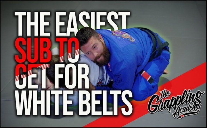 The Easiest Submission To Get For A BJJ White Belt