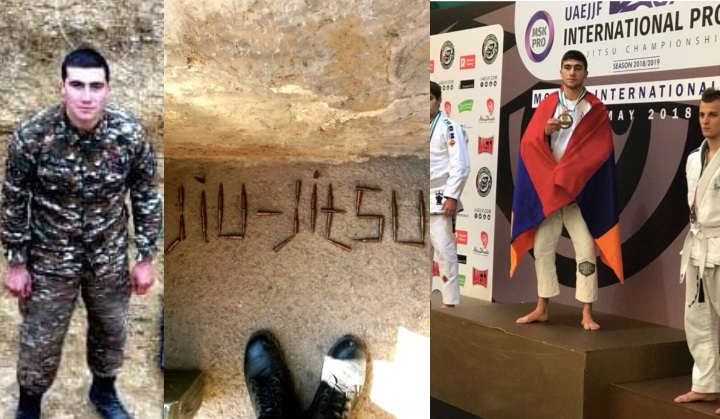 23yr old Armenian Brazilian Jiu-Jitsu Champion Killed in Nagorno-Karabakh Conflict