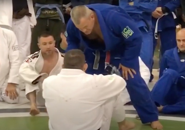 Jocko Willink Teaches a Very Cool Misdirection Guard Pass on Dean Lister