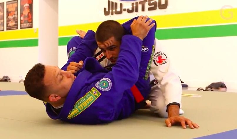 Renzo Gracie On How to Finish a Triangle Choke on a Much Larger & Stronger Opponent