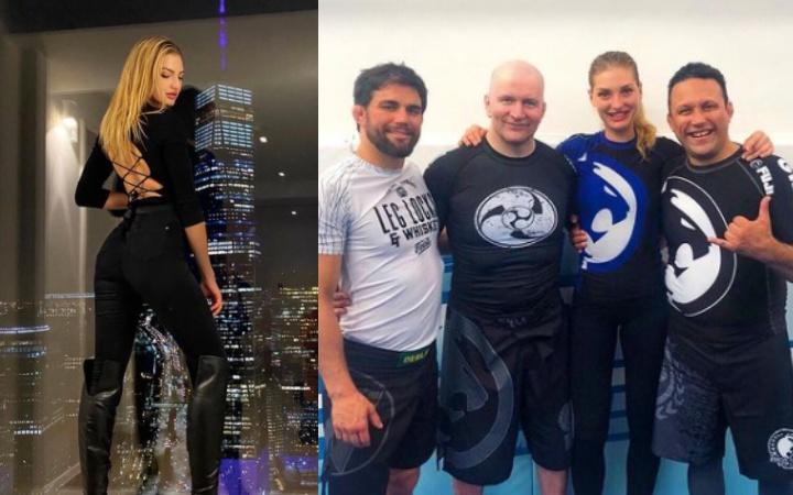 Meet Simona Andrejic, The Serbian Model That Trains Jiu-Jitsu at Renzo Gracie Academy