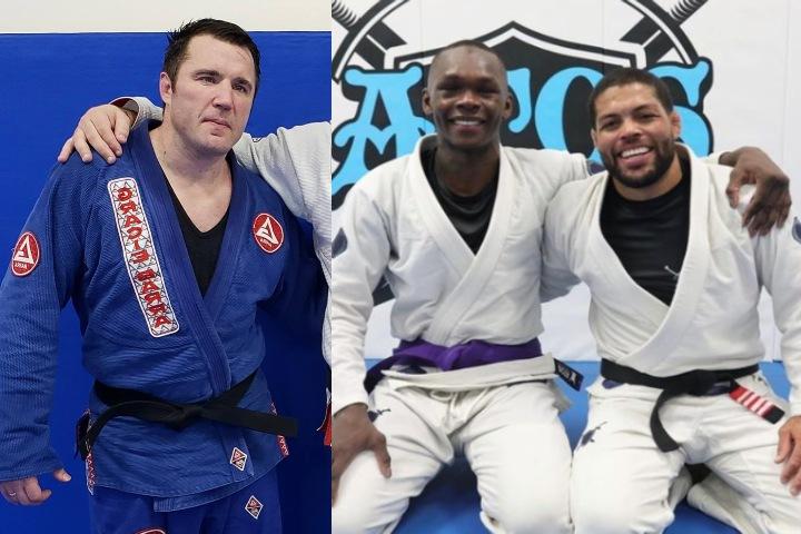BJJ Black Belt Chael Sonnen Criticizes Andre Galvao For Giving Adesanya a Purple Belt