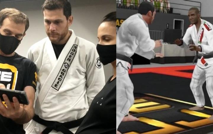 Roger & Kyra Gracie Approve The World's First Ever Brazilian Jiu-Jitsu Video Game