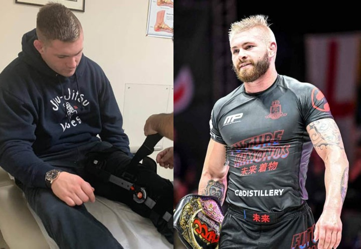 Gordon Ryan Shares His Formula For Dealing For Injuries in BJJ