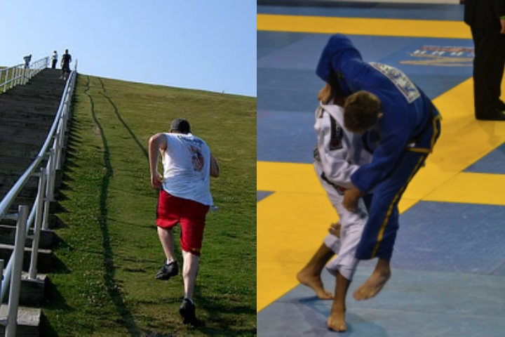 Hill Repeat Workouts Will BOOST Your Cardio For BJJ To The Max