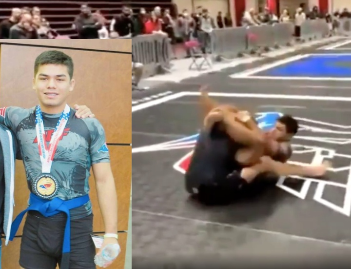 14 year Old Boy AGF Wins Pro Division by Submitting 3 BJJ Black Belts