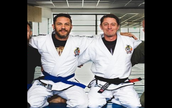 Actor Tom Hardy Promoted To Blue Belt in Brazilian Jiu-Jitsu