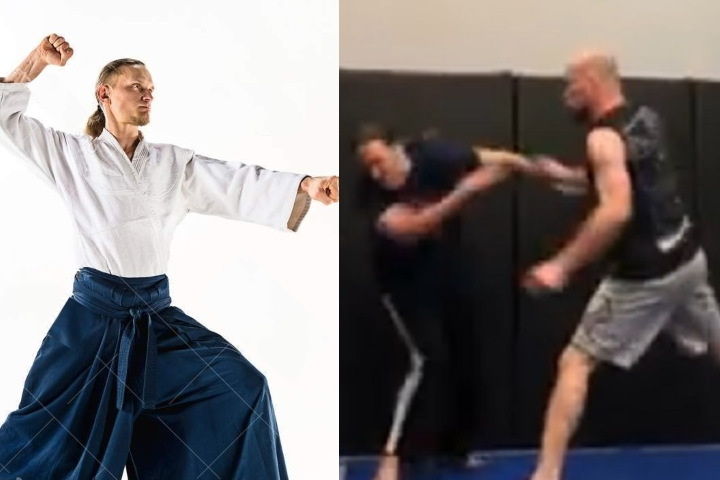 Aikido Practitioner Asks For Challenge at MMA Academy, Doesn't End Well For Him