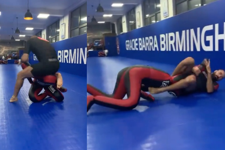 Braulio Estima Shows His Funky Turtle Spinning Armbar