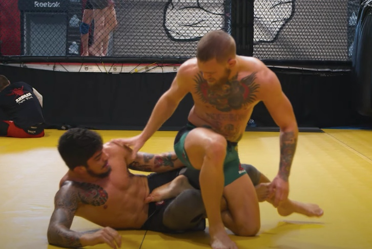 New Footage of Conor McGregor Grappling Dillon Danis