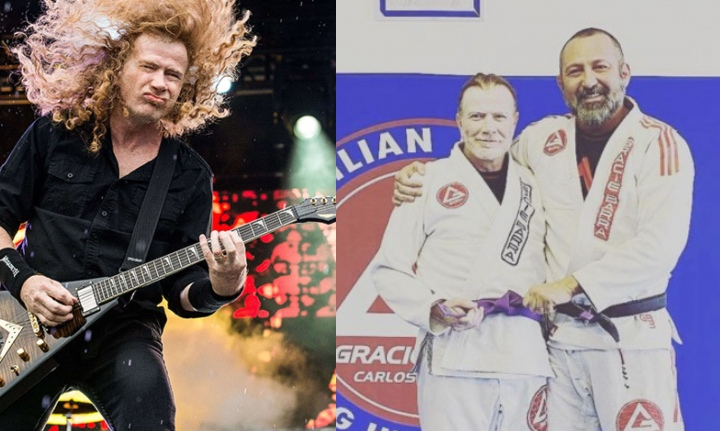 Dave Mustaine of Megadeth Promoted to Purple Belt in Brazilian Jiu-Jitsu at Age 59