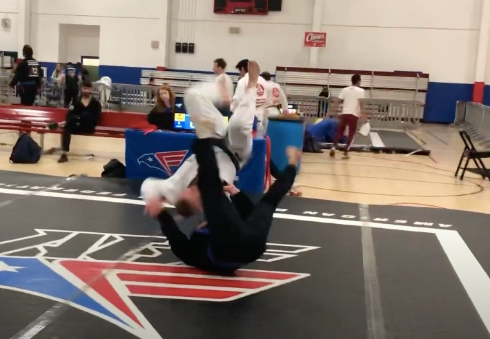 USA Judo Olympian Wins Double Gold in a Local BJJ Blue Belt Division