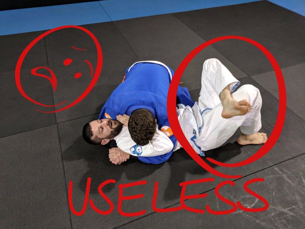 5 BAD HABITS In Brazilian Jiu Jitsu That You Have To AVOID