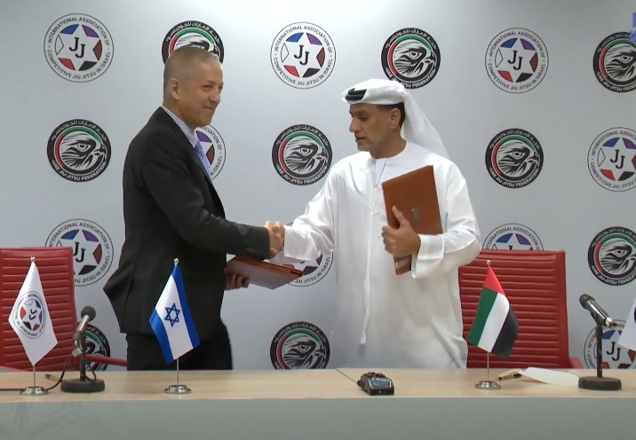 Jiu-Jitsu History in the Making: UAE & Israel Federation Agree On Official Cooperation & BJJ Development in Both Countries