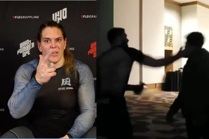 Gabi Garcia Challenges Gordon Ryan After Galvao-Slap Incident