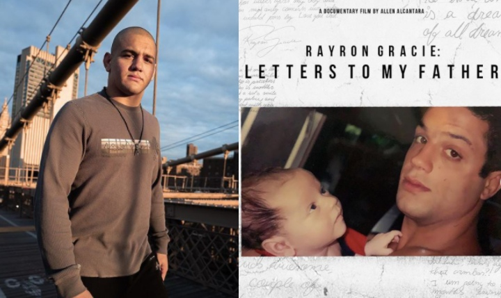 """Rayron's Tribute to Late Father Ryan Gracie in the Documentary """"Letters to my Father"""""""