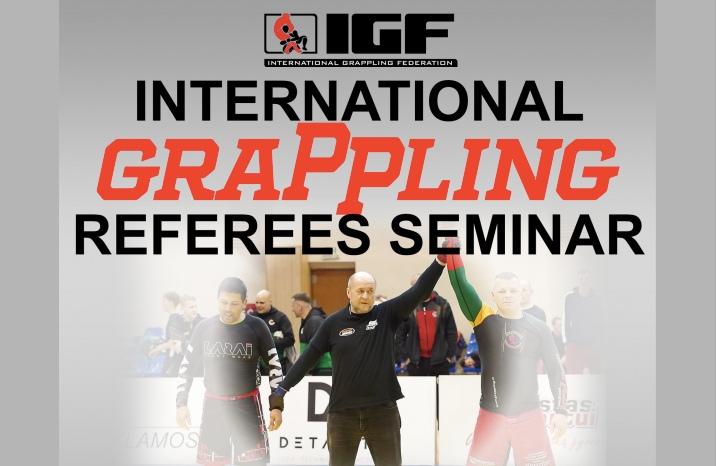 Online International Grappling Referees Seminar by International Grappling Federation