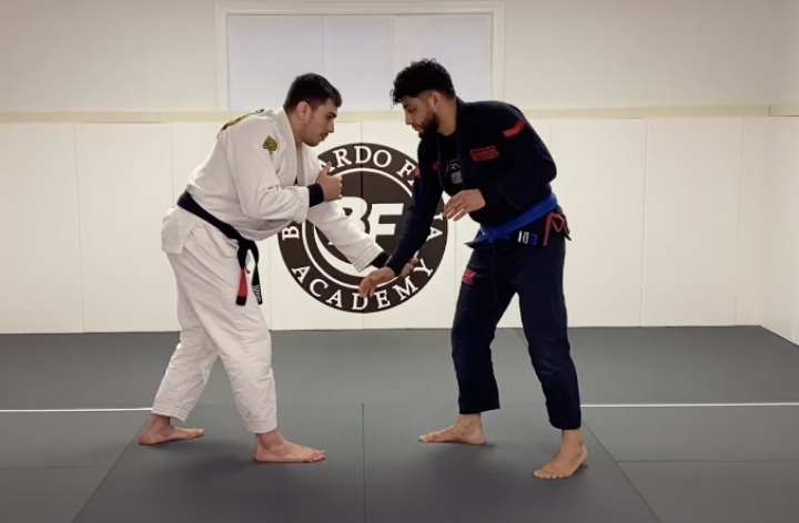 Here's an Easy Low Risk Takedown for BJJ Guard Players Terrible At Takedowns