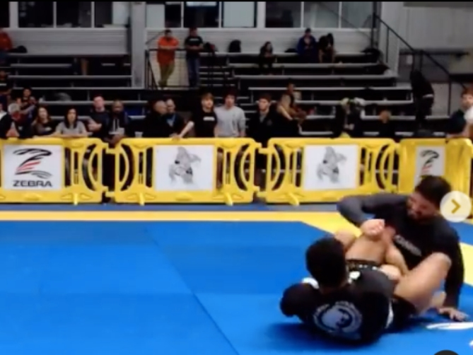 The First Ever Heel Hook in IBJJF History Happened Over The Weekend