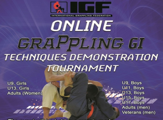 First Ever Online Grappling Gi Techniques Demonstration Tournament