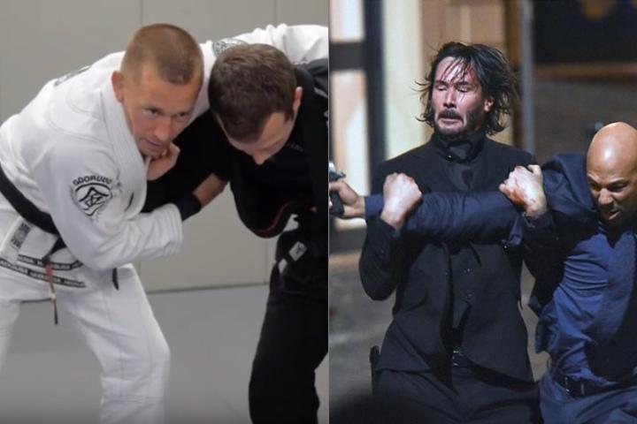 Georges St-Pierre Breaks Down Jiu-Jitsu Scenes From Movies
