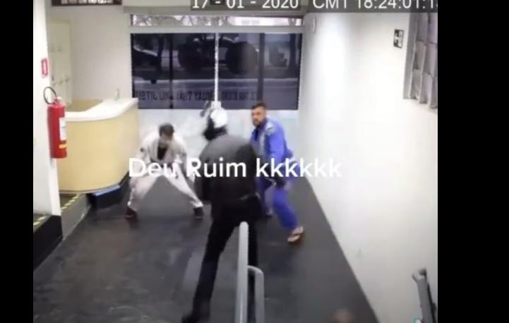 Guy Robs a Brazilian Jiu-Jitsu Academy: Big Mistake